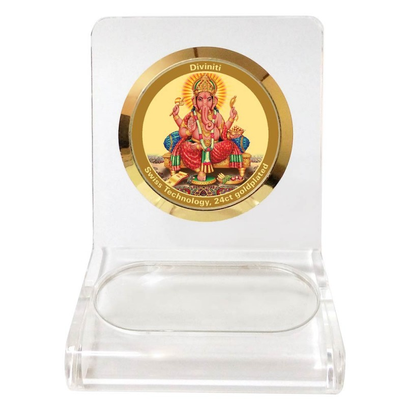 24K GOLD PLATED WPCF 1C CLASSIC COLOR GANESHA