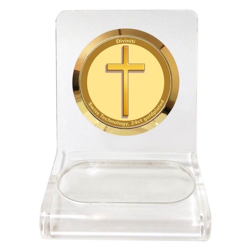 WPCF 1C CLASSIC COLOR CIRCULAR  CROSS WHITE