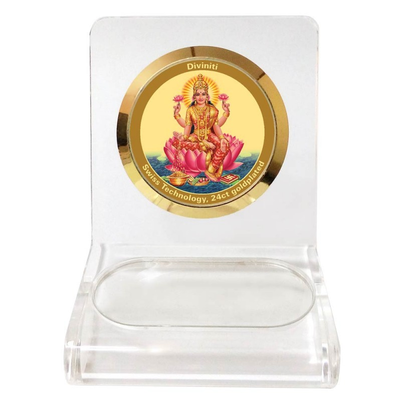 24K GOLD PLATED WPCF 1C CLASSIC COLOR LAXMI
