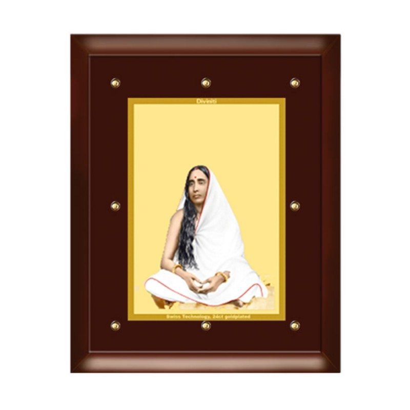 24K GOLD PLATED MDF FRAME SIZE 5 CLASSIC COLOR MAA SARADA