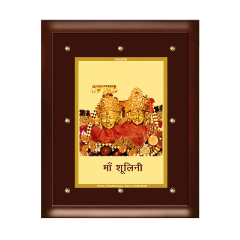 24K GOLD PLATED MDF FRAME SIZE 5 CLASSIC COLOR MAA SHOOLINI