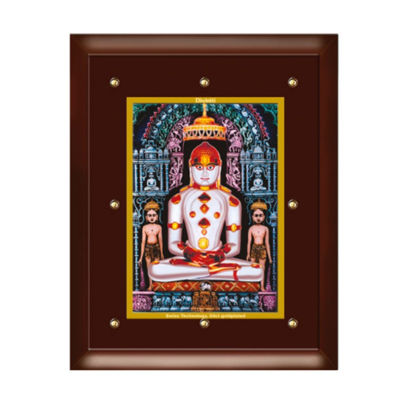 24K GOLD PLATED MDF FRAME SIZE 5 CLASSIC COLOR ADINATH