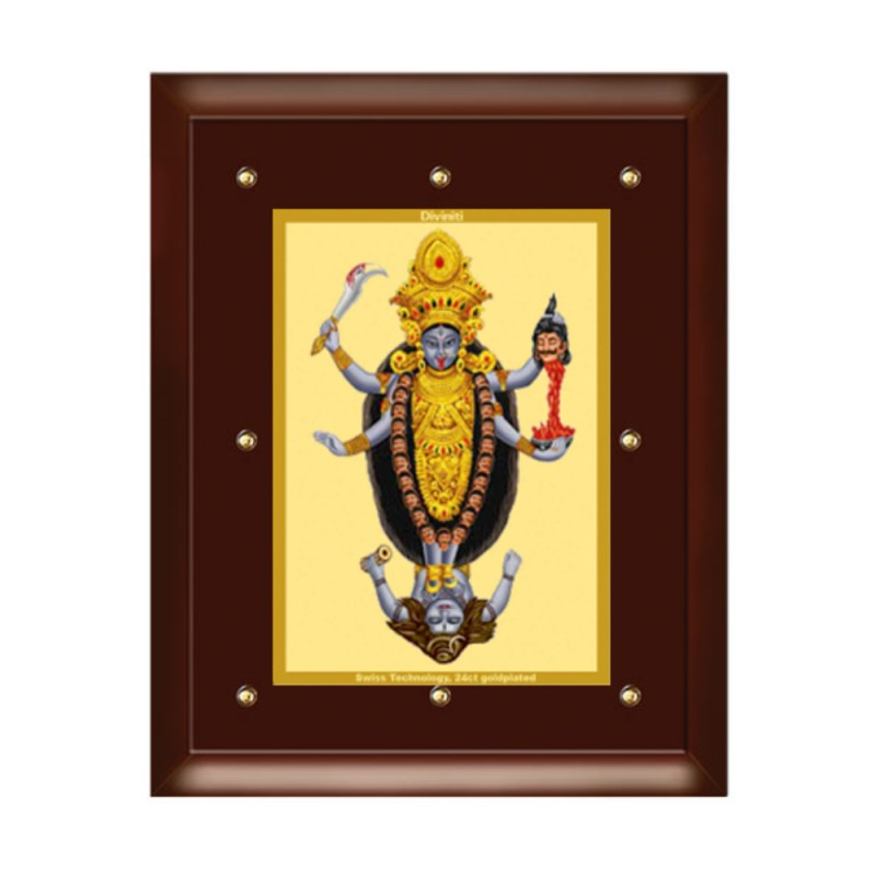 24K GOLD PLATED MDF FRAME SIZE 5 CLASSIC COLOR  MAA KALI