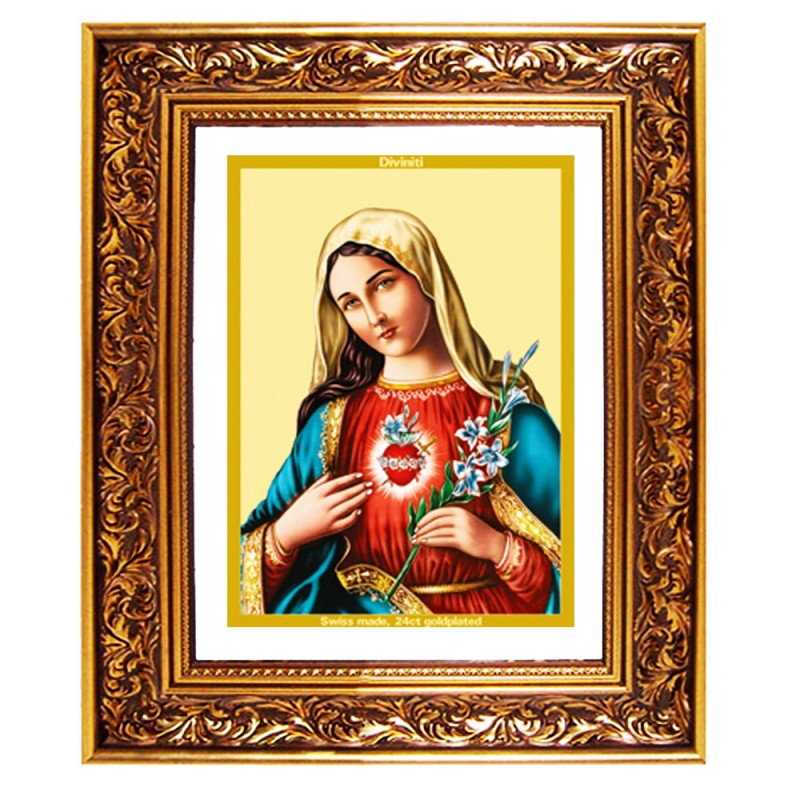 DG FRAME 93 SIZE 4.5 CLASSIC COLOR RECTANGULAR MOTHER MARY