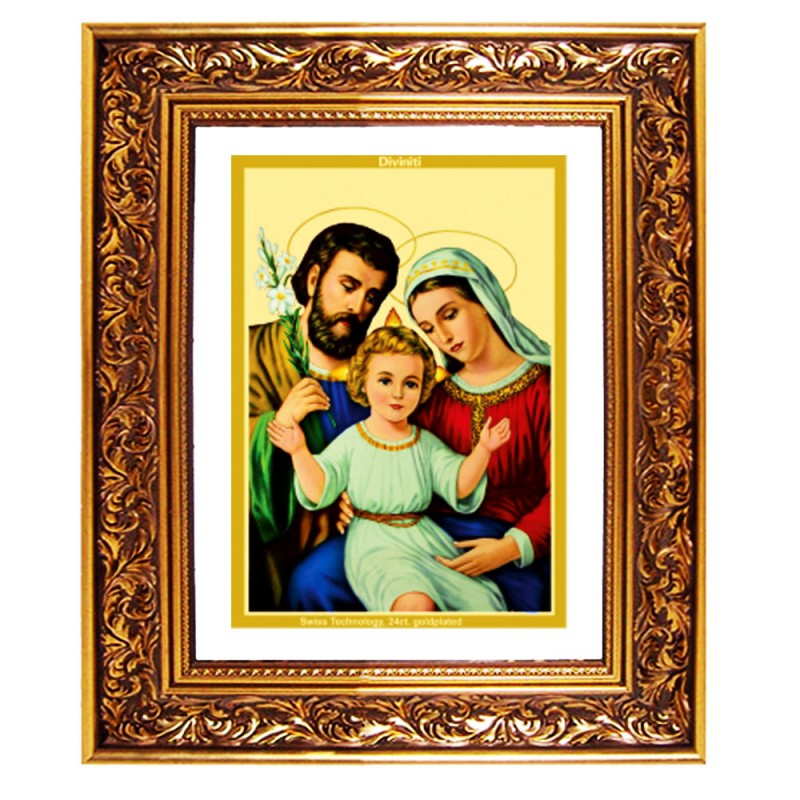 DG FRAME 93 SIZE 4.5 CLASSIC COLOR RECTANGULAR HOLY FAMILY