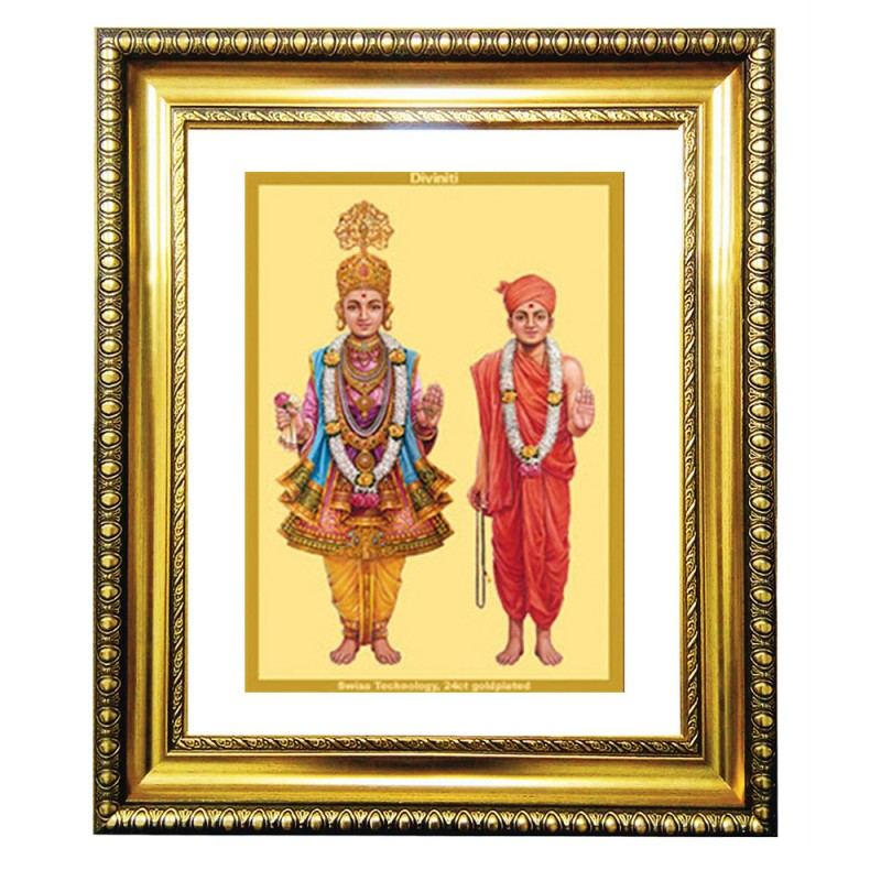 24K GOLD PLATED DG FRAME 81 SIZE 4.5 CLASSIC COLOR SWAMI NARAYAN