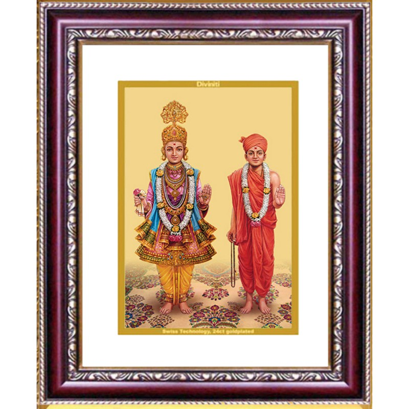 24K GOLD PLATED DG FRAME 105 SIZE 2 CLASSIC COLOR SWAMI NARAYAN
