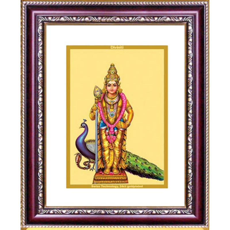 24K GOLD PLATED DG FRAME 105 SIZE 2 CLASSIC COLOR MURUGAN