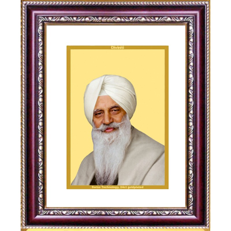 24K GOLD PLATED DG FRAME 105 SIZE 2 CLASSIC COLOR RADHA SWAMI