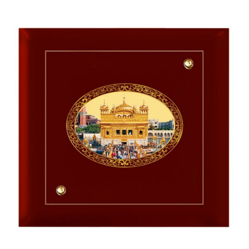 MDF FRAME SIZE 7D ROYALE COLOR OVAL GOLDEN TEMPLE