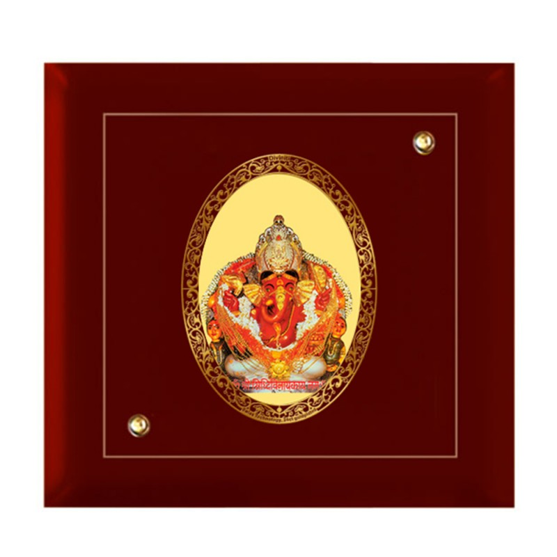 MDF FRAME SIZE 7D ROYALE COLOR OVAL SIDDHIVINAYAK