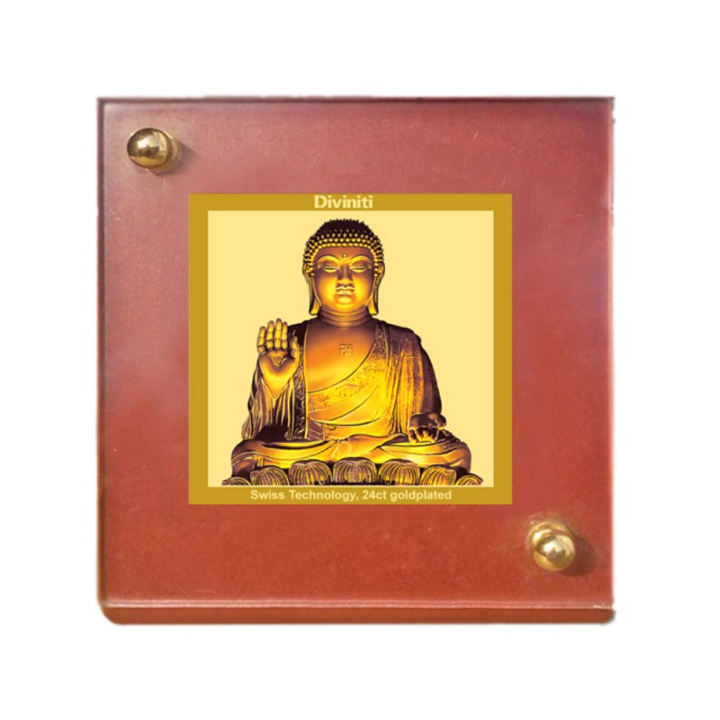24K GOLD PLATED MDF 1B CLASSIC COLOR BUDDHA