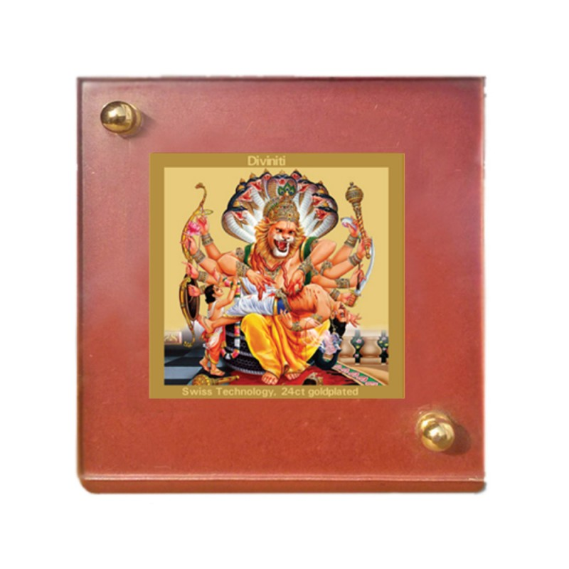 24K GOLD PLATED MDF 1B CLASSIC COLOR NARSIMHA