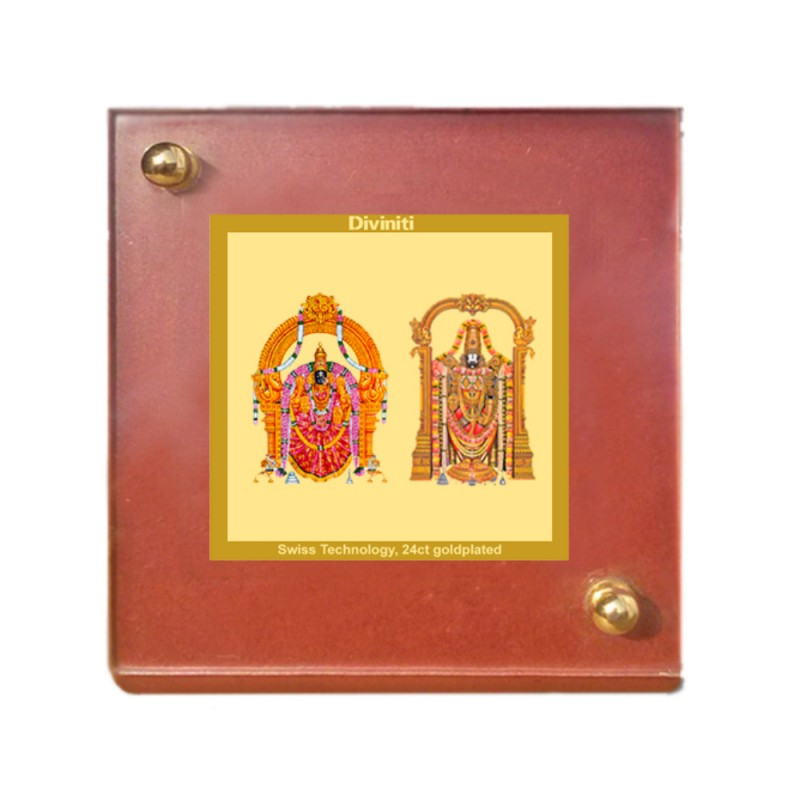 24K GOLD PLATED MDF 1B CLASSIC COLOR PADMAWATI PLATED BALAJI
