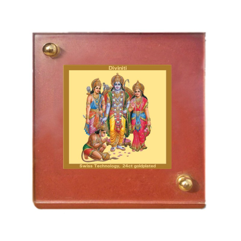 24K GOLD PLATED MDF 1B CLASSIC COLOR RAM DARBAR