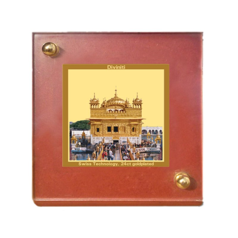 MDF 1B CLASSIC COLOR  SQUARE  GOLDEN TEMPLE