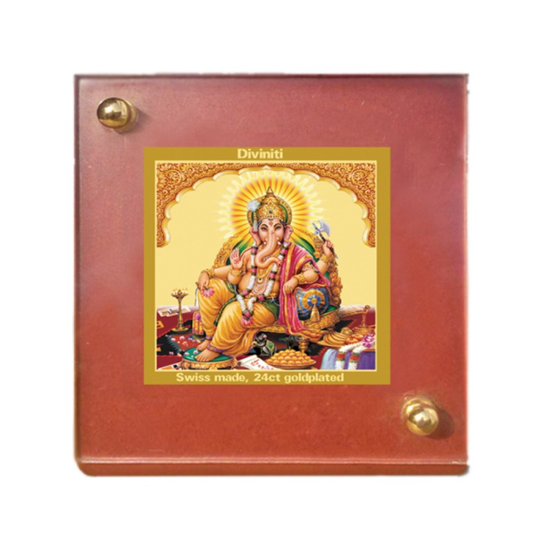 MDF 1B CLASSIC COLOR  SQUARE GANESHA SIDE POSE