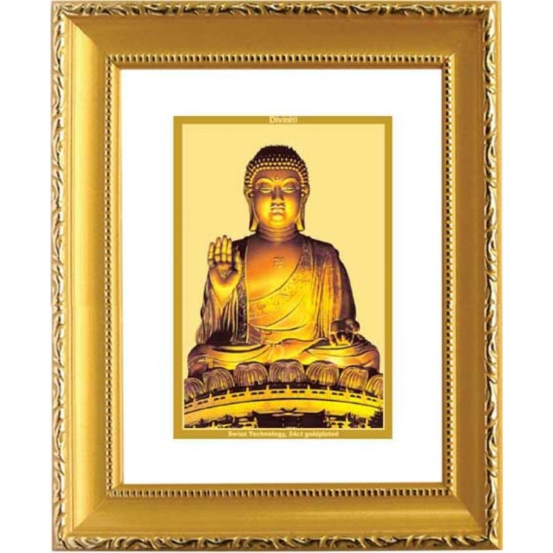 24K GOLD PLATED DG FRAME 101 SIZE 1 CLASSIC GOLD BUDDHA