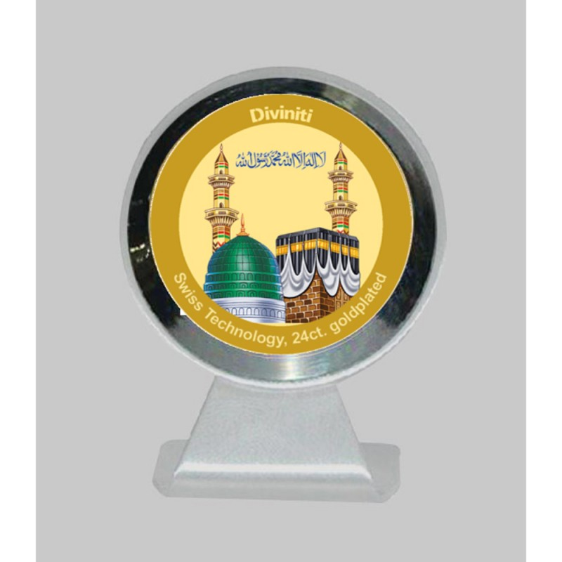 24K GOLD PLATED MCF 1CR CLASSIC COLOR MACCA MADINA