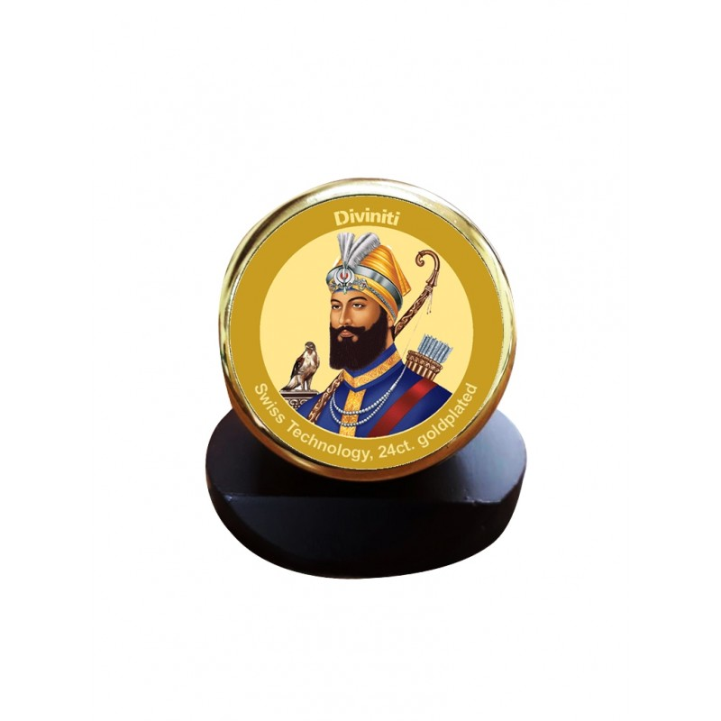 24K GOLD PLATED MCF 1C GLD CLASSIC COLOR GURU GOBIND SINGH