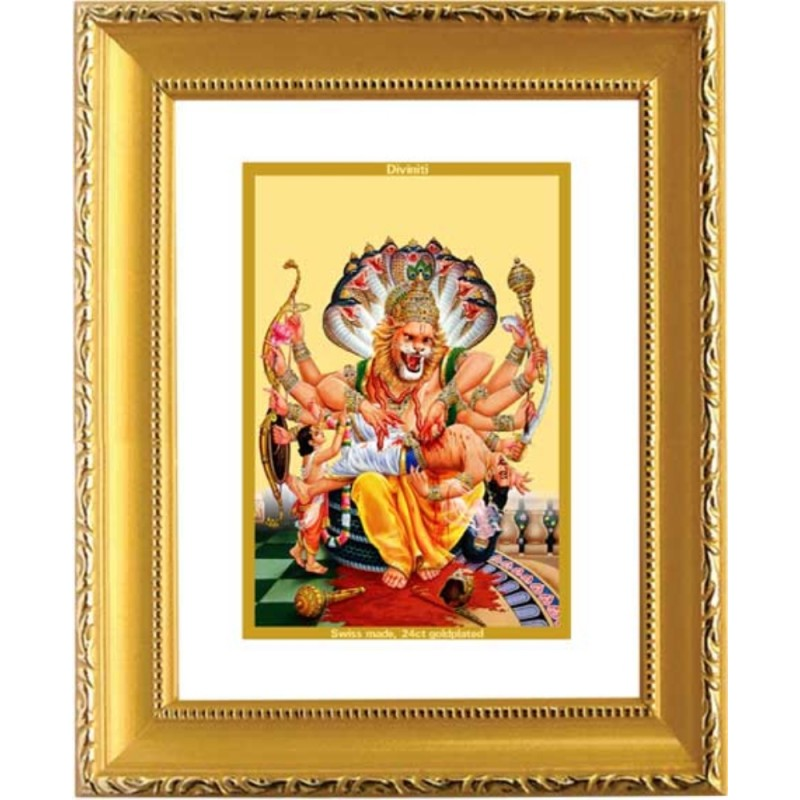 24K GOLD PLATED DG FRAME 101 SIZE 1 CLASSIC GOLD NARSIMHA