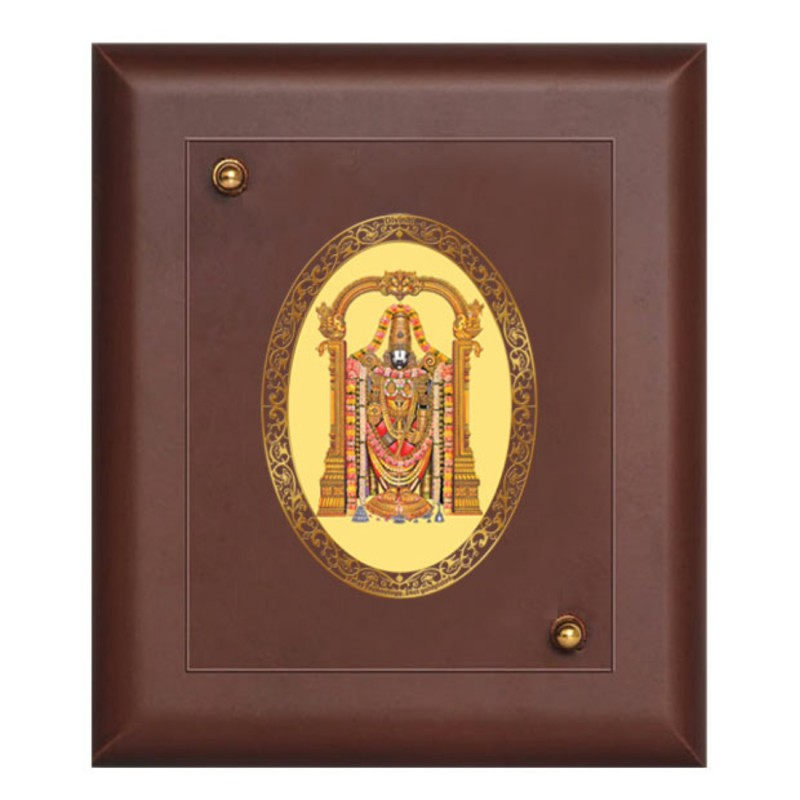 24K GOLD PLATED MDF FRAME SIZE 1 ROYALE COLOR BALAJI
