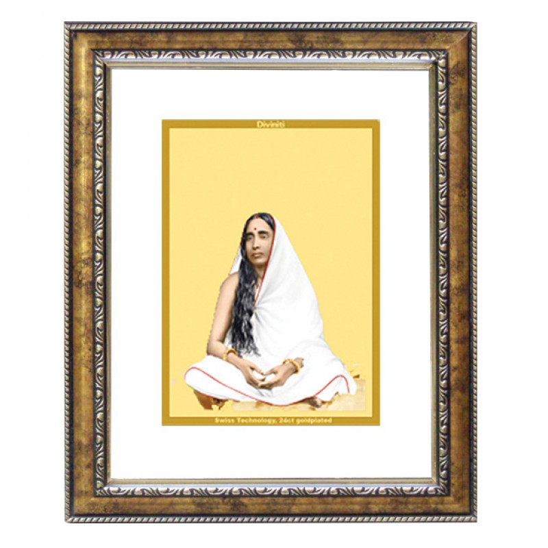 24K GOLD PLATED DG FRAME 113 SIZE 1 CLASSIC COLOR MAA SARDA