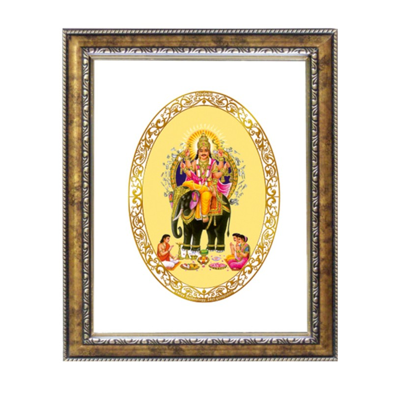 DG FRAME 113 SIZE 1 ROYALE COLOR  OVAL VISHVAKARMA