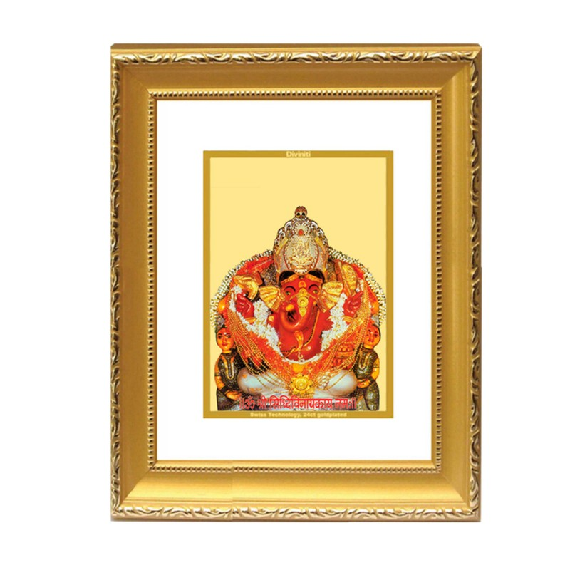 24K GOLD PLATED DG FRAME 101 SIZE 2 CLASSIC COLOR SIDDHIVINAYAK
