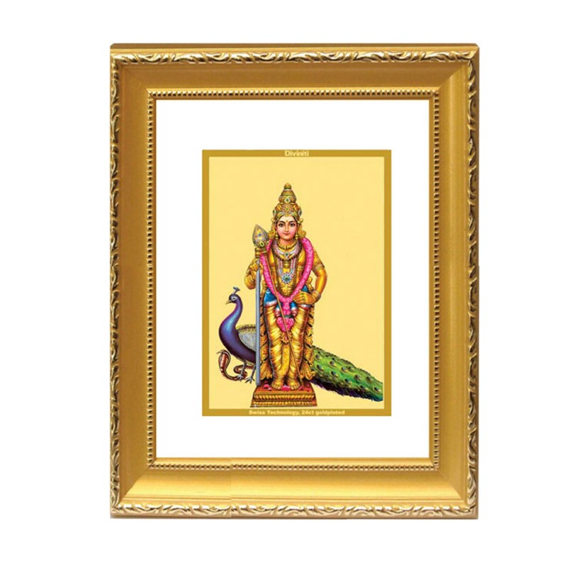 24K GOLD PLATED DG FRAME 101 SIZE 2 CLASSIC COLOR MURUGAN