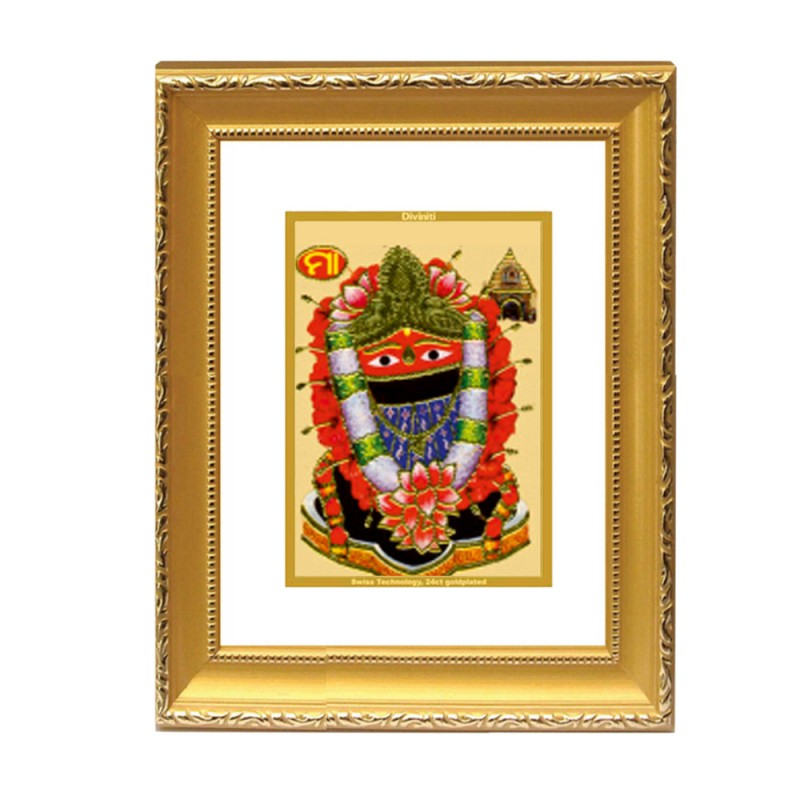 24K GOLD PLATED DG FRAME 101 SIZE 2 CLASSIC COLOR MAA TARINI