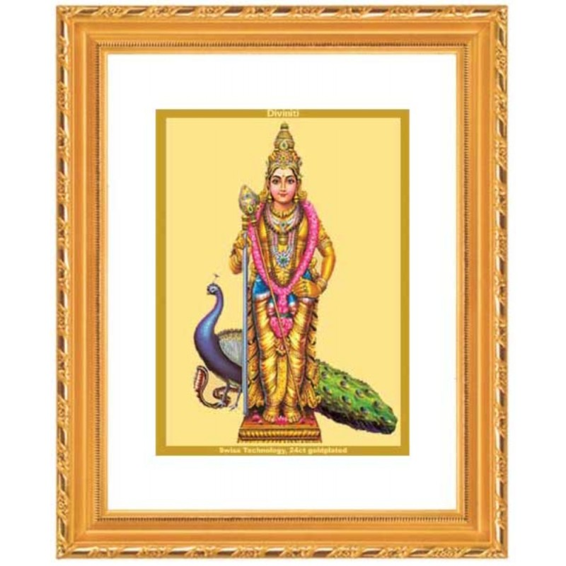 24K GOLD PLATED DG FRAME 103 SIZE 2 CLASSIC COLOR MURUGAN