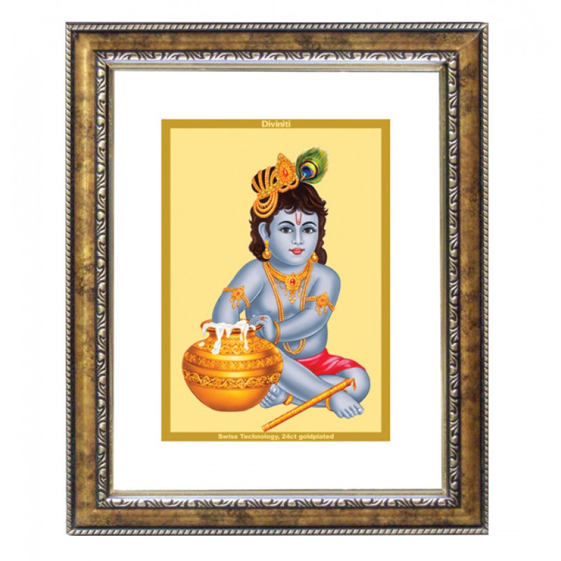 24K GOLD PLATED DG FRAME 113 SIZE 2.5 CLASSIC COLOR BAL GOPAL
