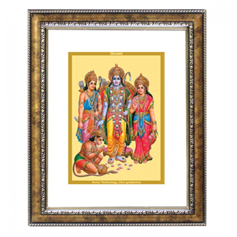 24K GOLD PLATED DG FRAME 113 SIZE 2.5 CLASSIC COLOR RAM DARBAR