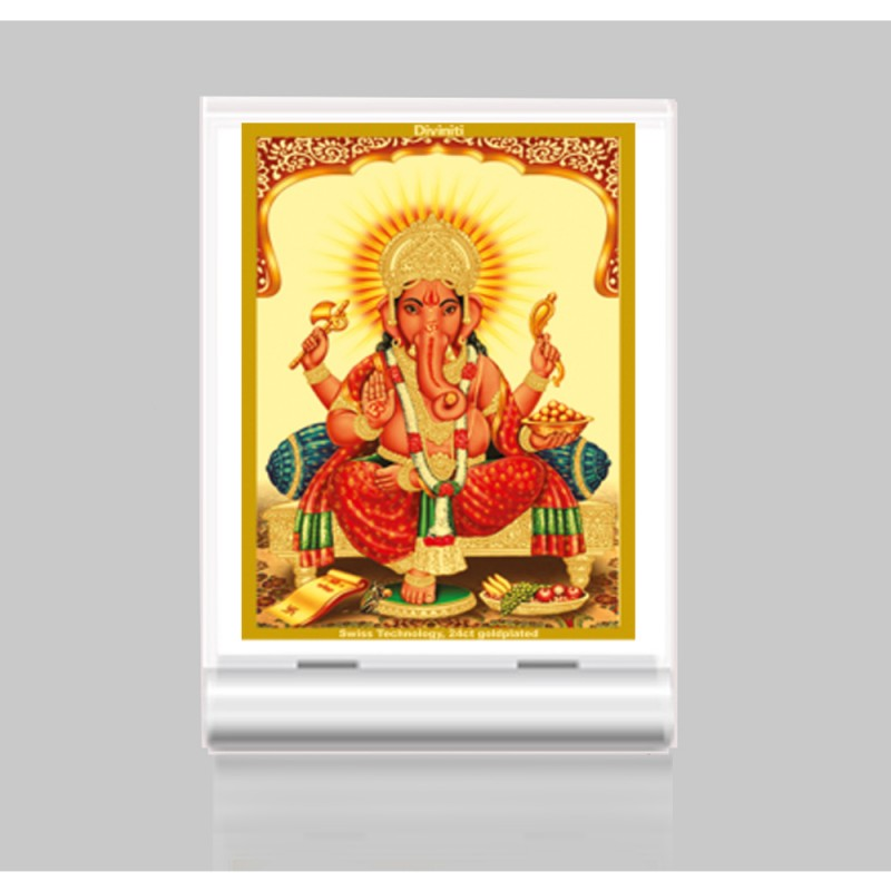 24K GOLD PLATED ACF 3 CLASSIC COLOR GANESHA