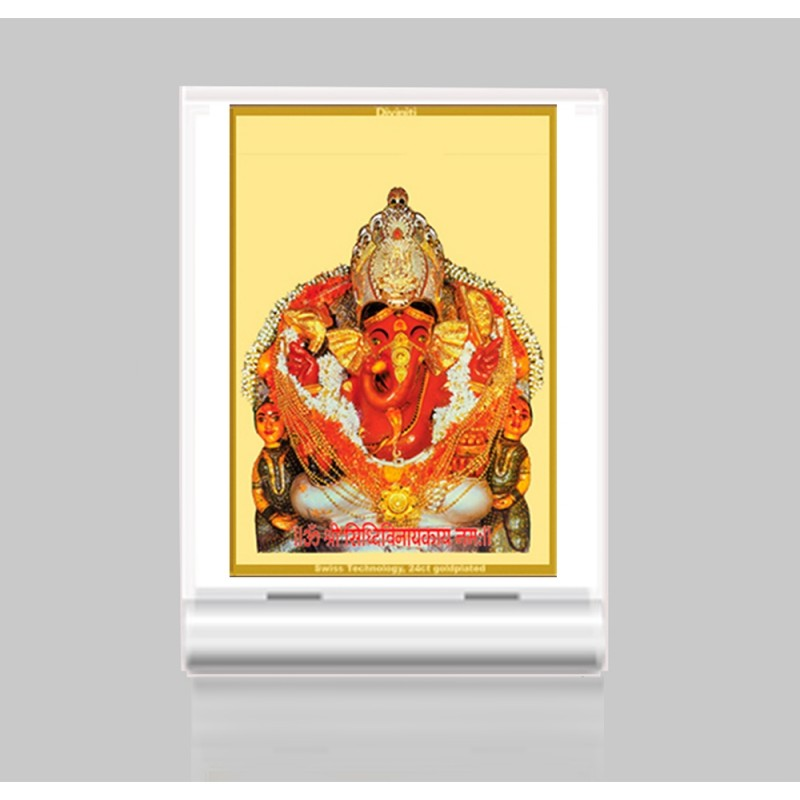 24K GOLD PLATED ACF 3 CLASSIC COLOR SIDDHIVINAYAK