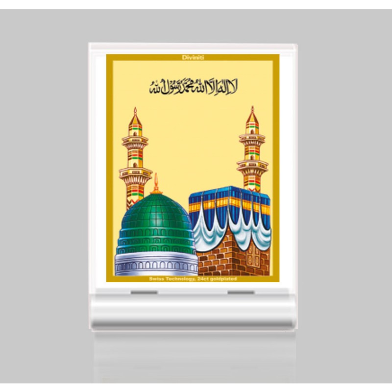 24K GOLD PLATED ACF 3 CLASSIC COLOR MACCA MADINA