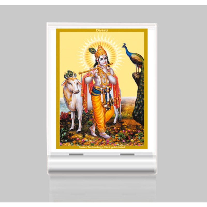 ACF 3 CLASSIC COLOR RECTANGULAR KRISHNA WITH COW