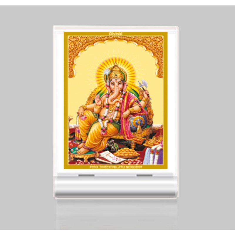 24K GOLD PLATED ACF 3 CLASSIC COLOR GANESHA -2