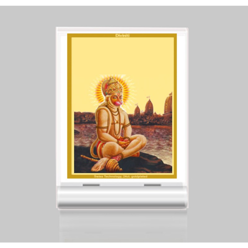 ACF 3 CLASSIC COLOR RECTANGULAR HANUMAN WITH PRAYER