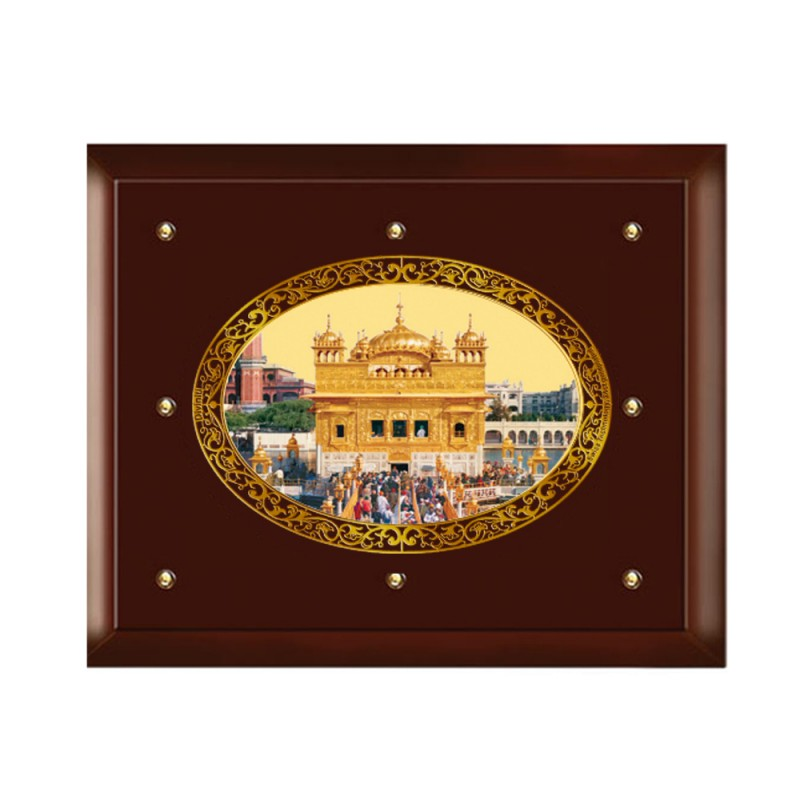 MDF FRAME SIZE 5 ROYALE COLOR OVAL GOLDEN TEMPLE