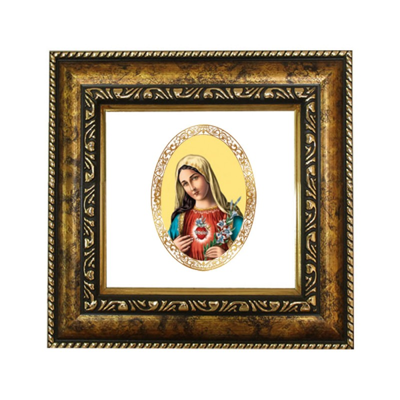 DG FRAME 113 SIZE 1D ROYALE COLOR  OVAL MOTHER MARY