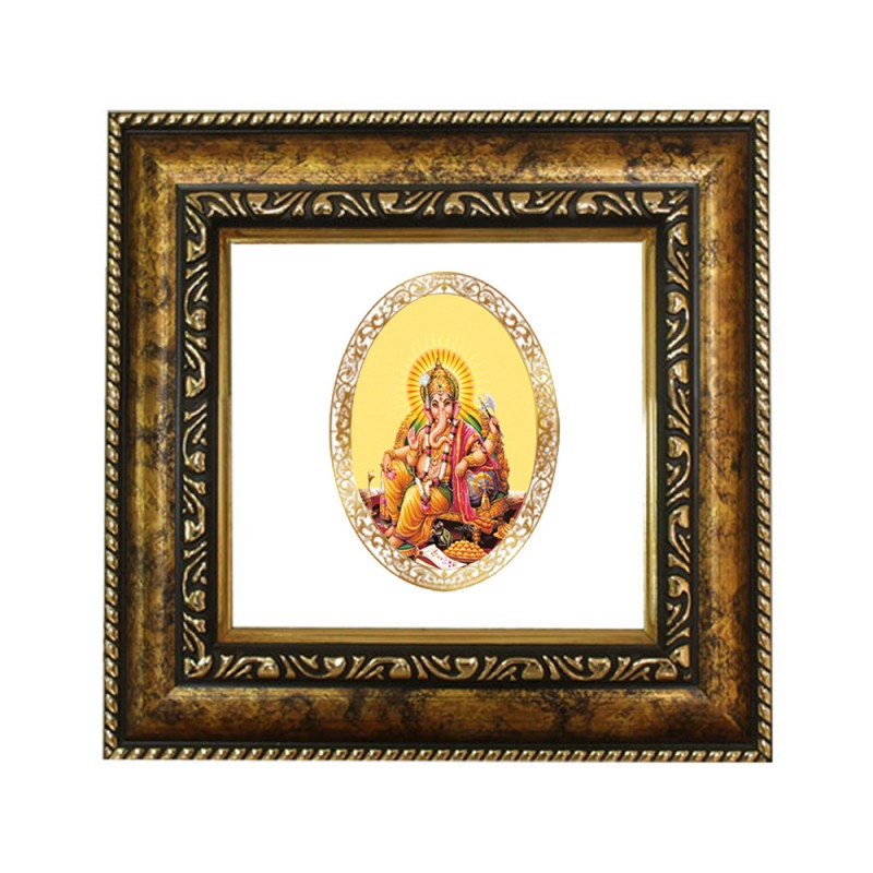DG FRAME 113 SIZE 1D ROYALE COLOR  OVAL GANESHA SIDE POSE