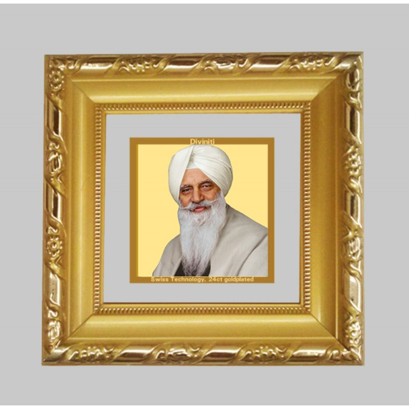 24K GOLD PLATED DG FRAME 103 SIZE 1A CLASSIC COLOR RADHA SWAMI