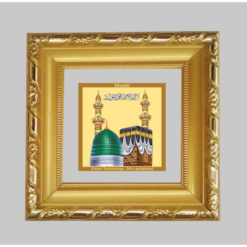 24K GOLD PLATED DG FRAME 103 SIZE 1A CLASSIC COLOR MACCA MADINA