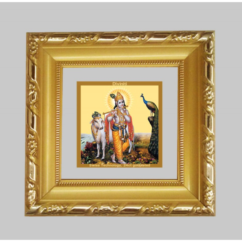 24K GOLD PLATED DG FRAME 103 SIZE 1A CLASSIC COLOR KRISHNA