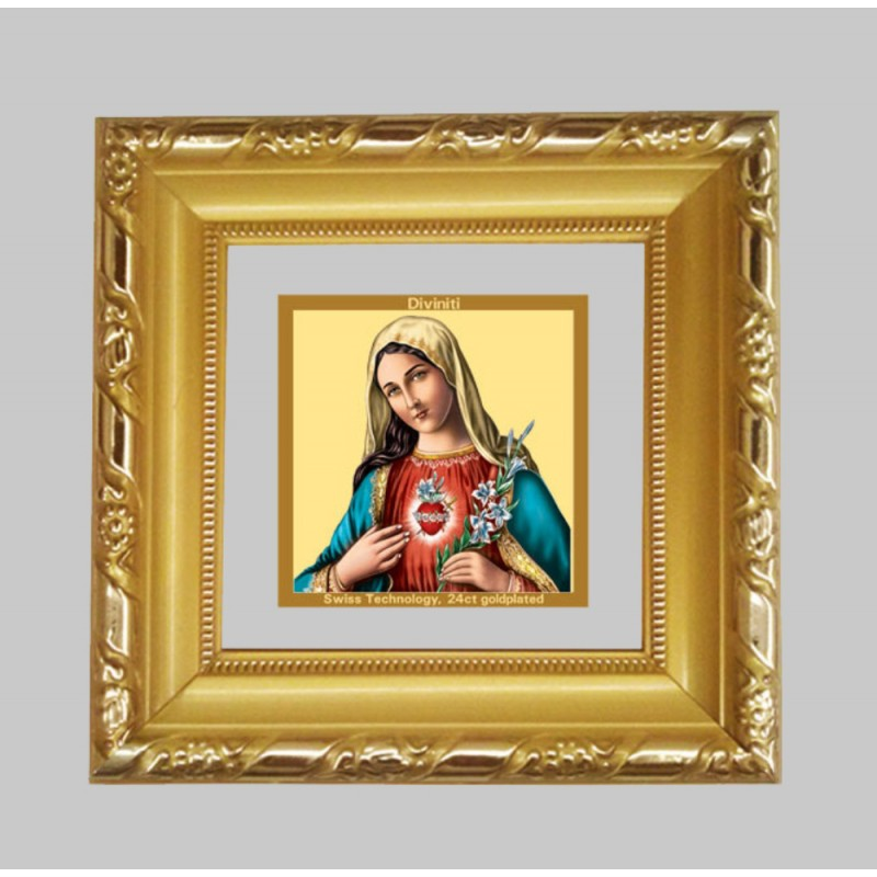 DG FRAME 103 SIZE 1A CLASSIC COLOR SQUARE MOTHER MARY