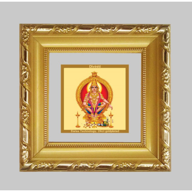 24K GOLD PLATED DG FRAME 103 SIZE 1A CLASSIC COLOR AYYAPAN