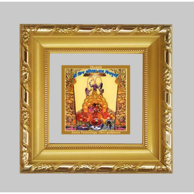 24K GOLD PLATED DG FRAME 103 SIZE 1A CLASSIC COLOR CHINTPOORNI MAA