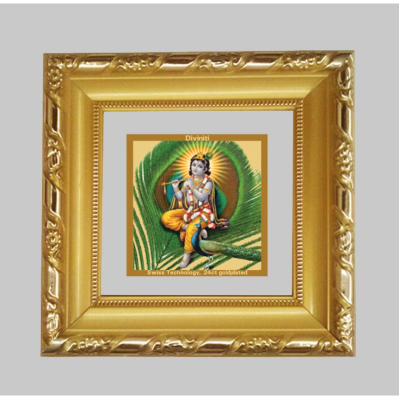 24K GOLD PLATED DG FRAME 103 SIZE 1A CLASSIC COLOR KRISHNA -4